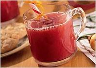Клюквенно-апельсиновый напиток с медом