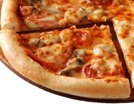 Рецепт пиццы с курицей и шампиньонами
