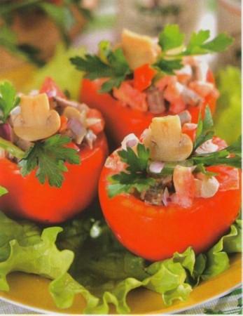 Рецепт фаршированных помидор