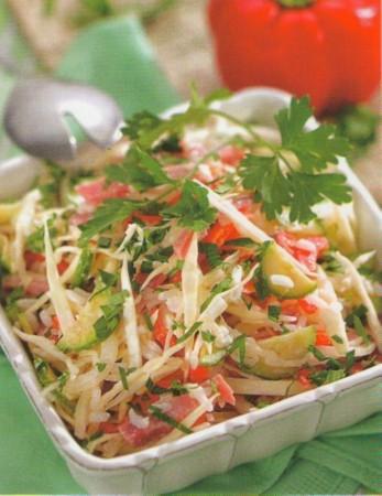 Рецепт салата из свежей капусты
