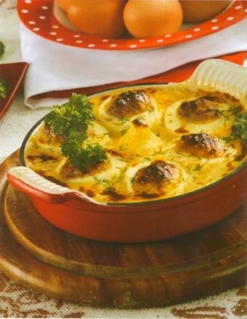 Рецепт яиц фаршированных печенкой