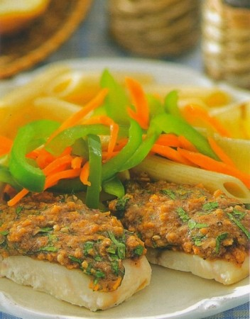 Рецепт филе пикши запеченной