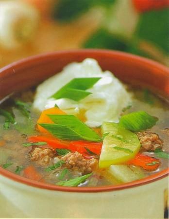 Рецепт летнего супа