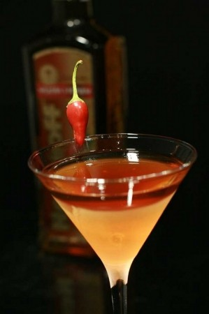 Рецепт Nemiroff Honey Pepper Manhattan