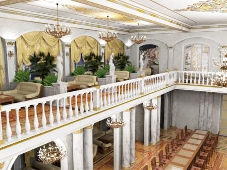 Лестницы кафе и ресторанов