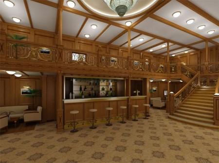 Дизайн ресторана - интерьер судна