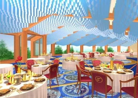 Проект интерьеров ресторана